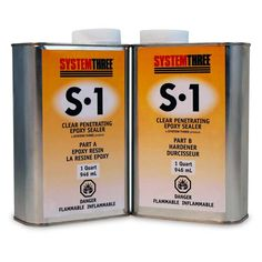 S-1 Sealer | Clear Penetrating Epoxy Sealer