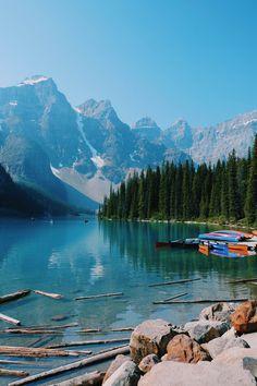 L'Ouest Canadien et les Rocheuses : Banff National Park – Étape 07 - JOOWBAR | Travel & More | Blog Voyage Mykonos, Santorini, Parc National De Banff, National Parks, Beautiful Places To Travel, Beautiful World, Lago Moraine, Lac Louise, Parcs Canada