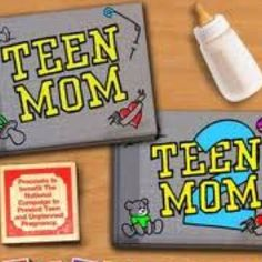 Teen mom is another reality show that shows the lives of young mothers and their troubles.Many have said that Teen Mom glorifies teen pregnancy, and provide poor role models, while the girls on the show just strive to inform people about their hardships as a young mother.
