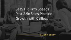 This cloud-based HR solutions firm accelerated its sales pipeline growth with the help of Callbox's experience in the Singaporean and Malaysian markets. Marketing Channel, Event Marketing, Digital Marketing Services, Crm Tools, Lead Nurturing, Hr Management, Marketing Automation, Global Business, Cloud Based