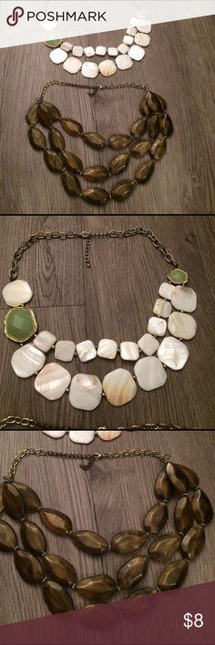 Set of 2 accent necklaces - Francescas collection Set of 2 accent necklaces - Francescas collection Francesca's Collections Jewelry Necklaces