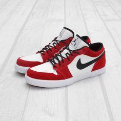 online store b585b 588ef Air Jordan Retro V.1 - White Black-Gym Red Jordan Retro V