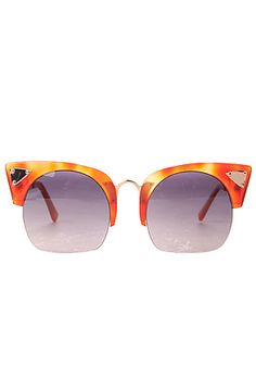 The Zesiro Sunglasses in Gold Cat Eye by Coco and Breezy