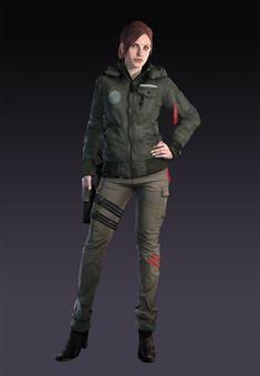 Resident Evil: Revelations 2 Claire Redfield