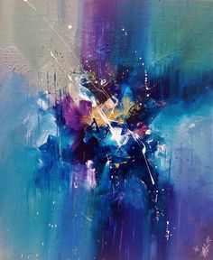 """Explore our internet site for even more information on """"contemporary abstract art painting"""". It is a great location to learn more. Blue Abstract Painting, Abstract Canvas Art, Acrylic Art, Abstract Watercolor, Painting & Drawing, Acrylic Paintings, Contemporary Abstract Art, Modern Art, Contemporary Artists"""