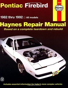 This came about 9 months after the ducati and is to date probably special offers available click image above pontiac firebird haynes repair manual fandeluxe Choice Image