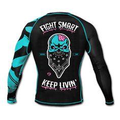 "Rashguard PRiDEorDiE ""Z-Camp"" MMA / Grappling / Wrestling / BJJ / JJB / Boxe / Cross Training / Fitness / Kickboxing / Muay Thai / UFC / Bellator / Fighter / Fight / Crossfit / Skull / Zombie / Walking Dead"