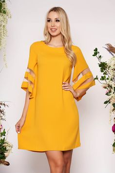 Reduceri rochii -70% - preturi reduse - Rochii Romania Cold Shoulder Dress, Dresses With Sleeves, Long Sleeve, Sweet, Model, Fashion, Gowns With Sleeves, Moda