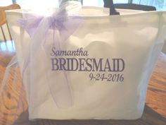 8 Bride Wedding Tote Bag Gift Bridesmaid Personalized Bridal Party Shower Cute for sale online Bridesmaid Gifts, Bridesmaids, Bridesmaid Dresses, Wedding Bride, Wedding Ideas, Personalized Wedding Gifts, Tote Bag, Etsy Store, Women's Totes