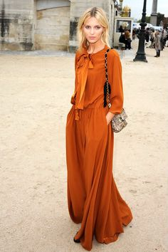 Anja Rubik Chloé dress