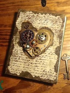 Steampunk Heart Card (Source: i2.tagstat.com)