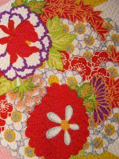 Japanese textile print