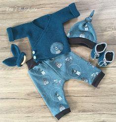 Baby Set Größe 50/56 Neu Handgefertigt Baby Set, Rompers, Knitting, Crochet, Dresses, Fashion, La Mode, Baby Sewing, Handmade