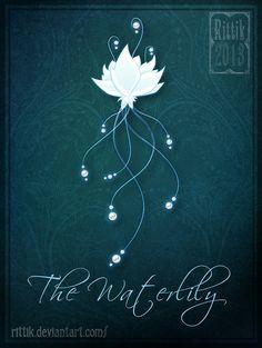 Amulet+-+The+Waterlily+by+Rittik.deviantart.com+on+@DeviantArt