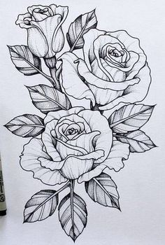 Эскизы цветов • Значение татуировки с цветком