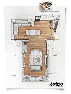 Architectural Sketches 191754896620031117 - The development of a living space by T Source sodeco Architecture Design Concept, Interior Architecture Drawing, Plans Architecture, Interior Design Sketches, Architecture Visualization, House Sketch Design, Landscape Architecture, Interior Design Presentation, Presentation Layout