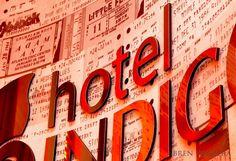 Hotel Indigo Atlanta Midtown new lobby & bistro review.