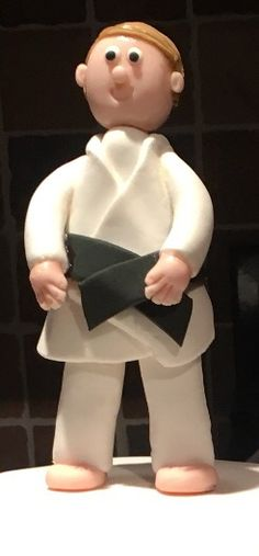 Karate Boy Cake Topper by The Little Rustic Baker