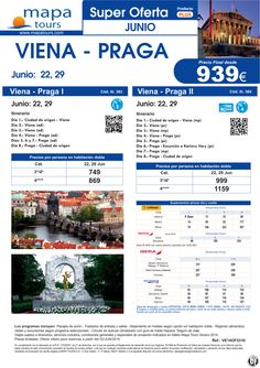 OF Viena - Praga salidas 22, 29 Junio **Precio Final desde 939** ultimo minuto - http://zocotours.com/of-viena-praga-salidas-22-29-junio-precio-final-desde-939-ultimo-minuto-3/