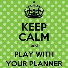Planner Miscellany