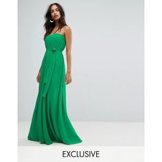 Bariano mint green lace maxi dress