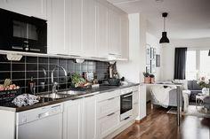 bostadervitec - 55 kvadrat Kitchen Cabinets, Interior Design, Inspiration, Home Decor, Studio, Ideas, Apartments, Yurts, Self Sufficient Homestead