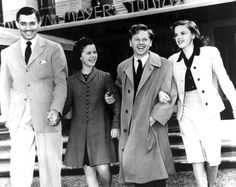 Clark Gable, Shirley Temple, Mickey Rooney, & Judy Garland