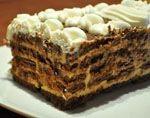 Tarta de Chocolate con Galletas Receta Pcos, Peruvian Desserts, Choco Chocolate, Shiitake, Deli Food, Loaf Cake, Just Cakes, Breakfast Cake, Trifle