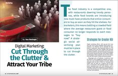 Damn that traffic jam! What's a brand to do when there's so much noise fighting for your guests' attention? Take a quick read to see what our Managing Partner Sue Reninger has to say on the topic, and tips to help you break through the clutter: . Norman Love, Quick Reads, Problem Solving, Clutter, Gratitude, Advertising, Restaurant, Social Media, Sayings