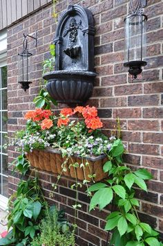Private Garden, Forest Hills ON Some walls have a beautiful aged patina. The last thing you'd want to do is cover them up or hide t...
