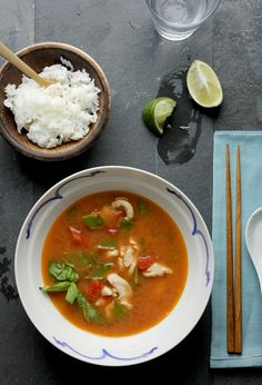 I love Thai food. I especially love soups of all kinds. Looking forward to trying this.