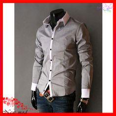 men's fashion winter colors | YW 2013 New Fashion Chic Mens Clothing Leisure Zippered Men Baseball ...