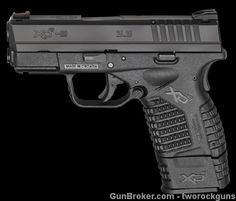 NIB Springfield XDS 9mm Black 3.3 inch Barrel : Semi Auto Pistols at GunBroker.com for $575.00 by tworockguns