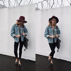 jaqueta jeans | Isabella Scherer no Instagram