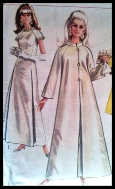 Simplicity 7283 Misses' Coat And Dress with by ThePatternShopp, $15.00