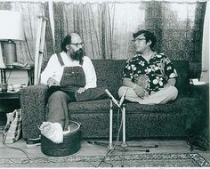 Allen Ginsberg and Chogyam Trungpa