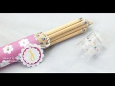 Stampin Up Colouring Pencils and Holder - YouTube