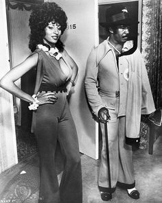Pam Grier & Richard Pryor