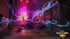 InFAMOUS: Second Son Art Dump - Polycount Forum Infamous First Light, Infamous Second Son, Light Art, One Light, Eugene Sims, Delsin Rowe, Maladaptive Daydreaming, 15 Year Old Boy, Mystical World