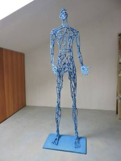 "Saatchi Art Artist Michele Rizzi; Sculpture, ""Why? ( Star man)"" #art"