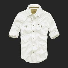 Abercrombie and Fitch Herre Shirts 216 Hollister Clothes, Hollister Shirts, Casual Shirts, Casual Outfits, Men Casual, High Fashion Men, Mens Fashion, Guy Fashion, Country Western Fashion