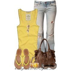 Sunny Days, created by cindycook10 on Polyvore
