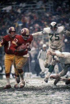Old school Redskins vs. Eagles
