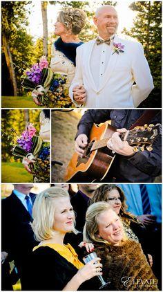 Colorado Mountain Wedding Ceremony #Breckinridge #Coloradowedding Aloft at V3 Ranch Wedding - Elevate Photography #mountainwedding #colorfulwedding #wedding #bride #groom