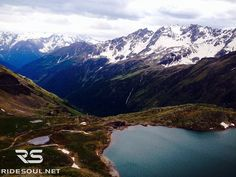 The speechless beauty of the Alps! #motorcycle #tour #italy