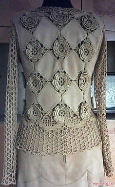 Irish lace, crochet, crochet patterns, clothing and decorations for the house, crocheted.