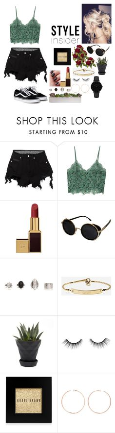 """""""Sin título #149"""" by valusa ❤ liked on Polyvore featuring County Of Milan, MANGO, Tom Ford, Topshop, MICHAEL Michael Kors, Chive, tarte, Bobbi Brown Cosmetics, Anita Ko and CLUSE"""