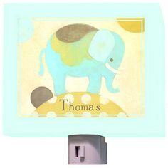 Ella Elephant - Night Light by Oopsy Daisy.