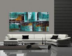 Arte abstracto 72 gran arte de la pared trullo