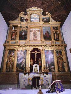 Retablo mayor. Iglesias, Altar, Carousel, Fair Grounds, Altars, Carousel Horses